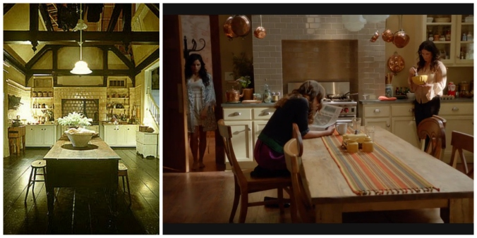 Practical Magic Kitchen vs Beauchamp Kitchen